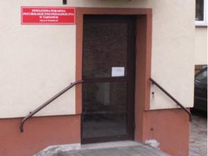 Wejście do Powiatowej Poradni Psychologiczno-Pedagogicznej, Filia w Wojniczu